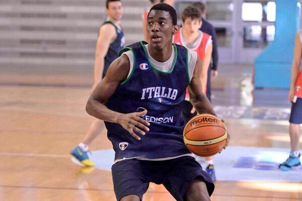 I convocati della Nazionale Sperimentale di Basket in raduno a Treviso