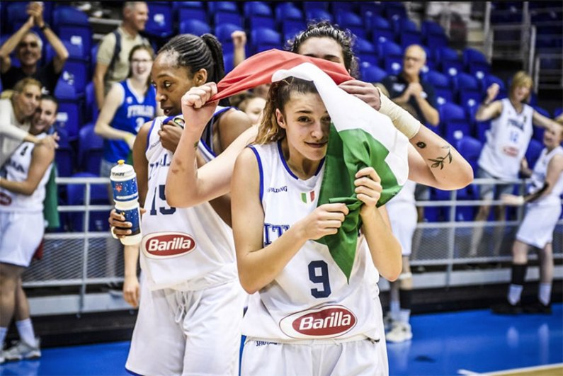 Europeo Under 20 Femminile di Basket, l'Italia è in semifinale