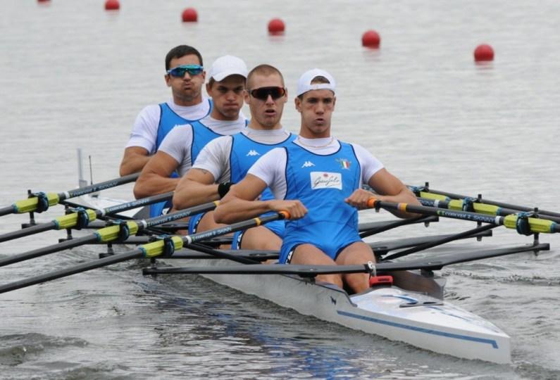 Europei di Glasgow: nel canottaggio 5 barche azzurre in finale
