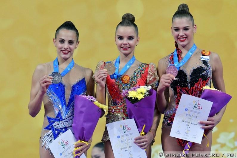 Campionati del Mondo di Ritmica, Dina Averina è ancora la regina
