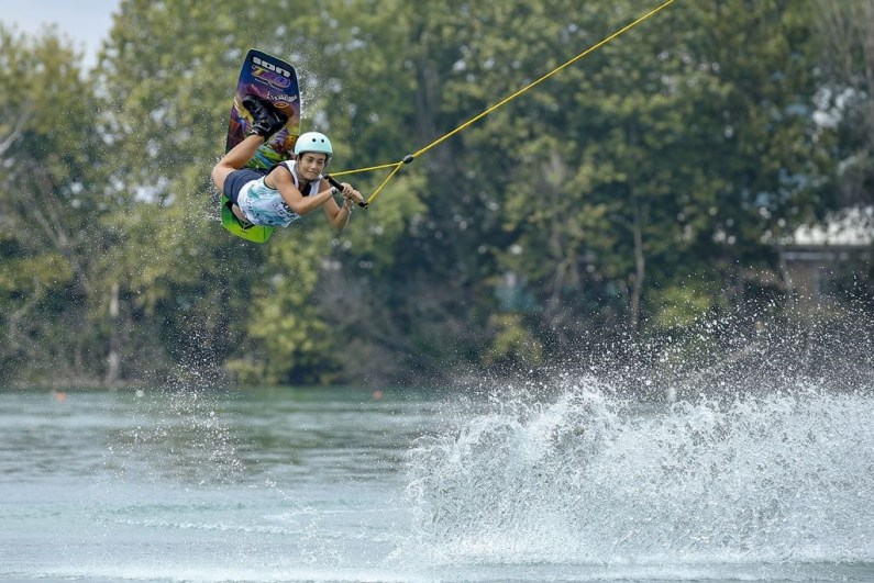 Claudia Pagnini Campionessa del Mondo cable wakeboard Under 19