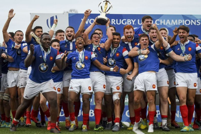 World Rugby U20 Championship, bis della Francia, Italia 9^