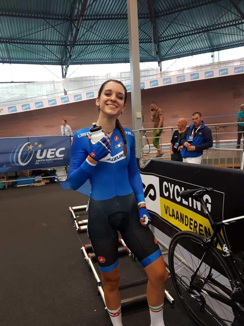 Europei Pista U23 e Jrs – Eleonora Gasparrini juniores d'oro nell'omnium