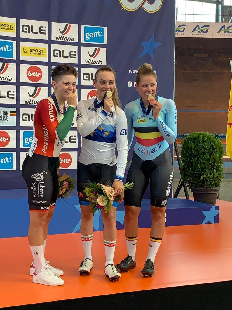 Europei pista U23 e Jrs: Letizia Paternoster è sempre la regina