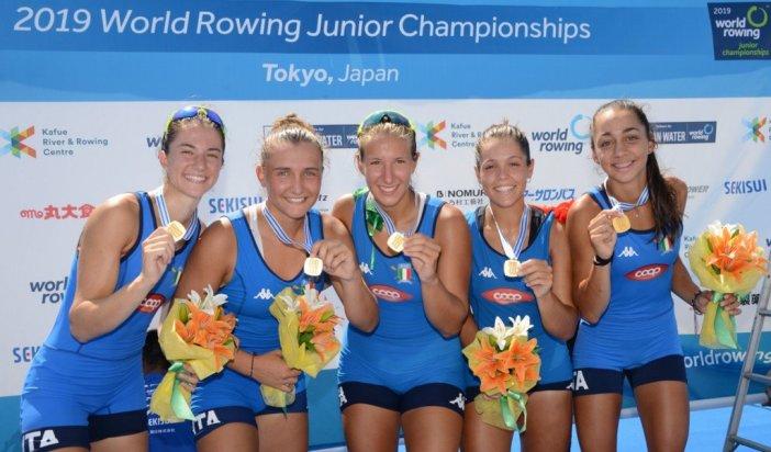 Mondiali canottaggio junior – Un oro e sette medaglie per l'Italia