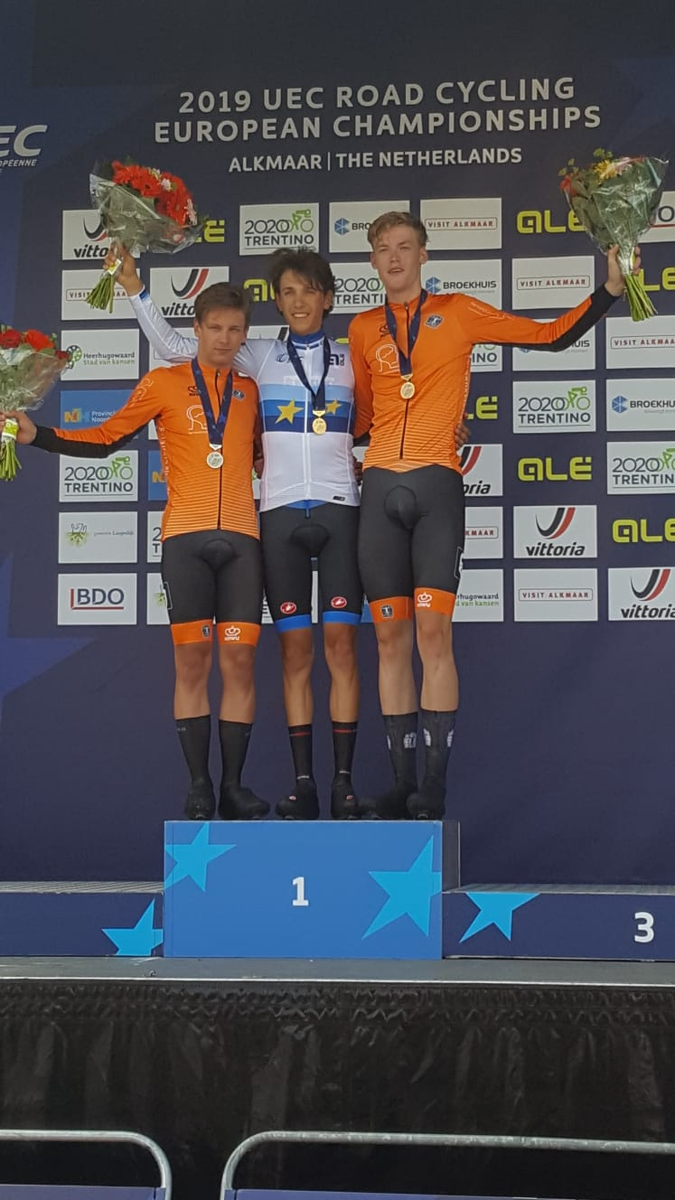 Europei Ciclismo 2019 – Oro di Andrea Piccolo, bronzo nel Mixed Relay