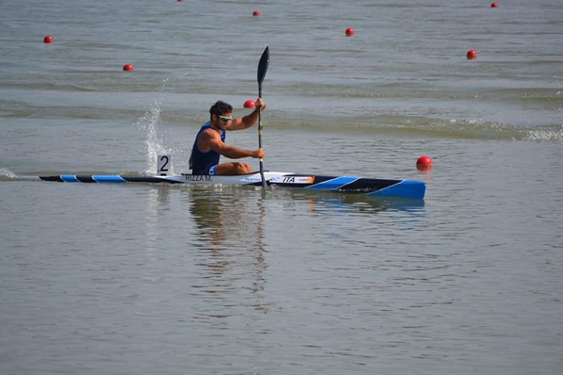 Mondiali canoa velocità: il primo pass olimpico è di Manfredi Rizza