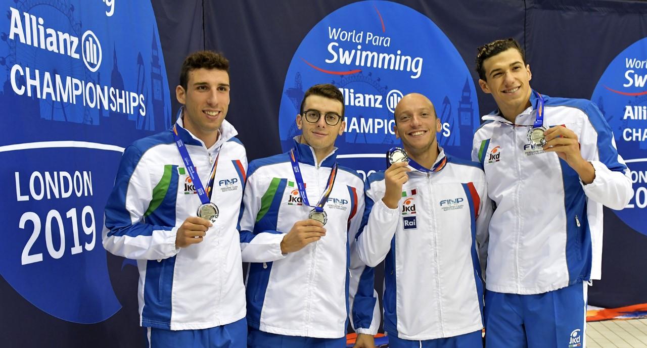 Mondiali di nuoto paralimpico, Italia da record e campione del mondo
