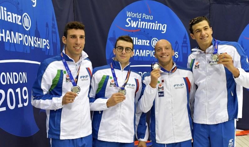 Mondiali nuoto paralimpico, sale il bottino della spedizione