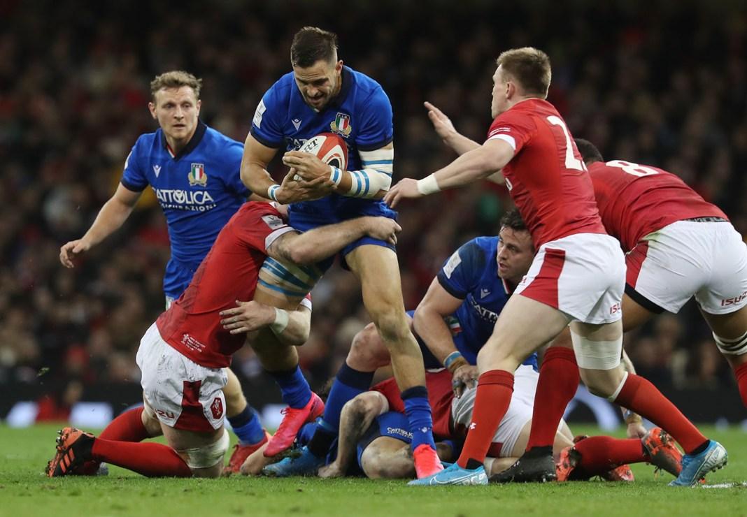 Galles Italia 42-0