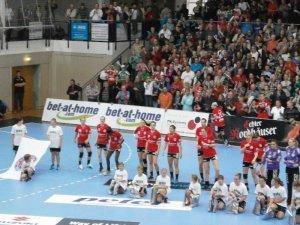 Thüringer HC im Champions-League-Heimspiel gegen Györi Audi ETO KC - Foto: SPORT4Final
