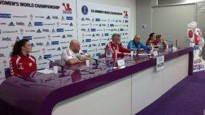 Handball-WM 2013 Serbien - Halbfinale: Polen vs. Serbien 18:24 am 20.12.2013 - Pressekonferenz - Foto: SPORT4Final