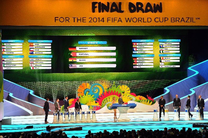 2014 FIFA World Cup ™ Final Draw – Auslosung der Gruppen