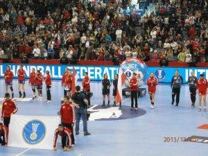 Handball-WM 2013 Serbien - Halbfinale: Polen vs. Serbien 18:24 am 20.12.2013 - Foto: SPORT4Final