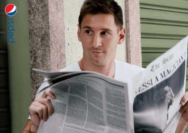 Lionel Messi - Pepsi feiert mit Lionel Messi - Foto: PepsiCo International