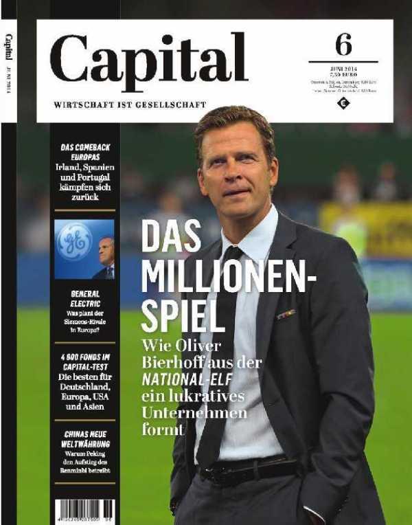 """Oliver Bierhoff: """"Bis zum Achtelfinale ist die Fußball-WM für uns ein Verlustgeschäft."""" - Foto: Capital"""