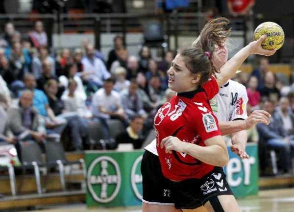 Bayer Leverkusen vs. Thüringer HC 23:27 in der Smidt-Arena in Leverkusen am 11.05.2014 - Foto: Ralf Kardes