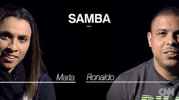 CNN International: Marta und Ronaldo - Foto: CNN International
