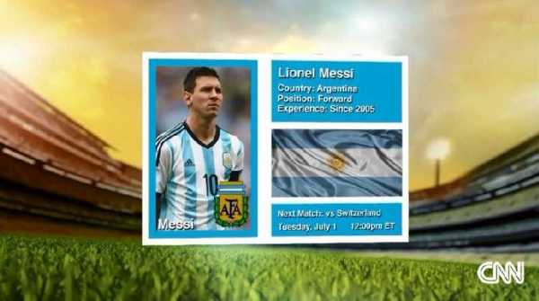 CNN International: One to Watch - Die besten WM-Spieler - Lionel Messi, Neymar und Robin van Persie - Foto: CNN International