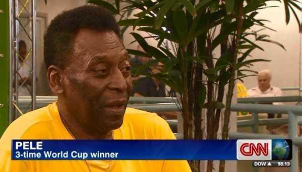 """CNN International """"World Sport"""": Interview mit Pele: """"Deutschland WM-Favorit"""" - Foto: CNN International"""