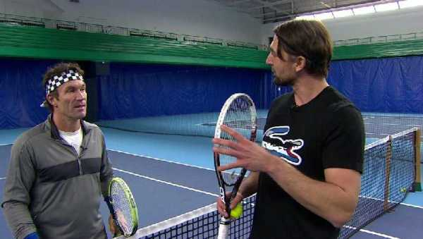 "CNN International: ""Open Court"" - Goran Ivanisevic und Pat Cash - Foto: CNN International"