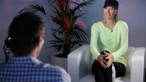 "CNN International: ""Open Court"" - Maria Sharapova und Pat Cash - Foto: CNN International"