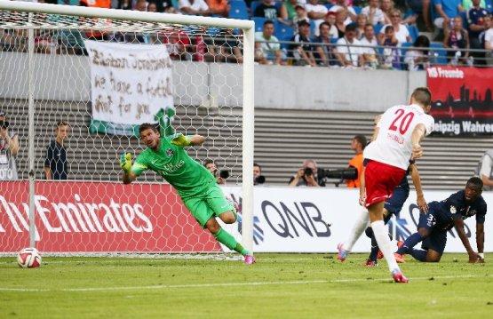 RasenBallsport Leipzig vs. Paris Saint-Germain FC - Denis Thomalla (RB Leipzig) - Foto: GEPA pictures/Kerstin Kummer