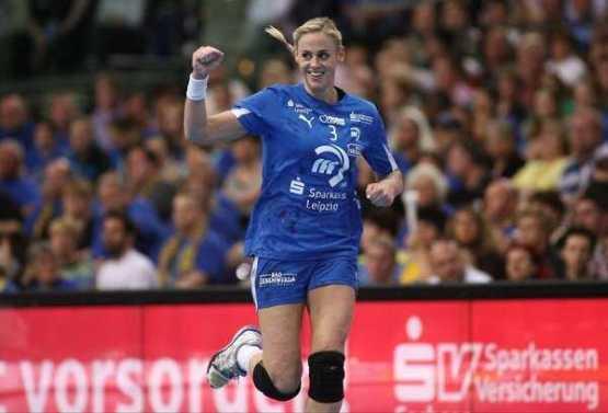 Spielmacherin Maura Visser (HC Leipzig) - Foto: Sebastian Brauner, Sportsnine