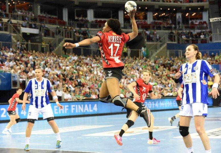 Siraba Dembele (Vardar Skopje) - EHF Champions League Women´s Final4 Semifinal 2014 May 3rd Budapest/Hungary Semi-final ZRK Vardar SCBT (MKD) vs RK Buducnost (MNE) - Foto: EHF Media