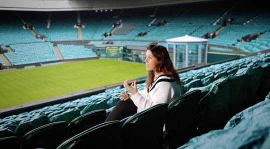 "CNN ""Open Court"": Pat Cash spricht mit Marion Bartoli - Quelle: CNN International ""Open Court"""