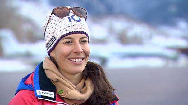 """CNN """"Alpine Edge"""" mit Dominique Gisin und Lindsey Vonn - Dominique Gisin - Foto: CNN International """"Alpine Edge"""""""