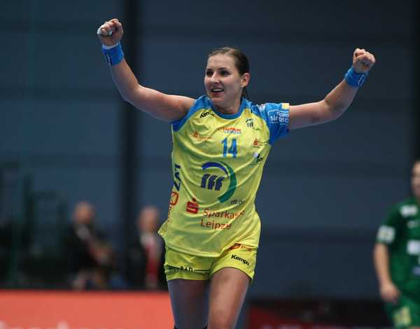 Karolina Kudlacz vom HC Leipzig vs. FTC Budapest am 21.09.2014 - Foto: Sebastian Brauner