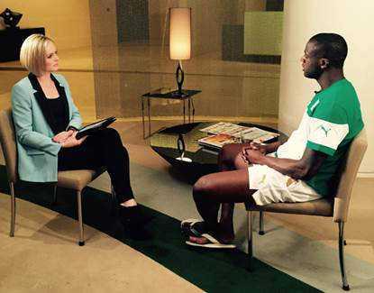 Exklusiv-Interview mit Yaya Toure über seine Zukunft bei Manchester City und die Angst vor Ebola - CNN World Sport