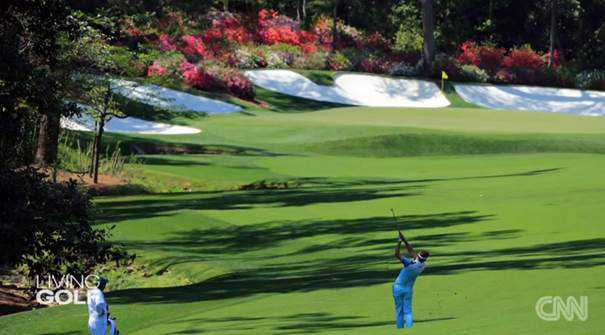 "CNN ""Living Golf"": Der legendäre Augusta National Golf Club - Foto: CNN International ""Living Golf"""