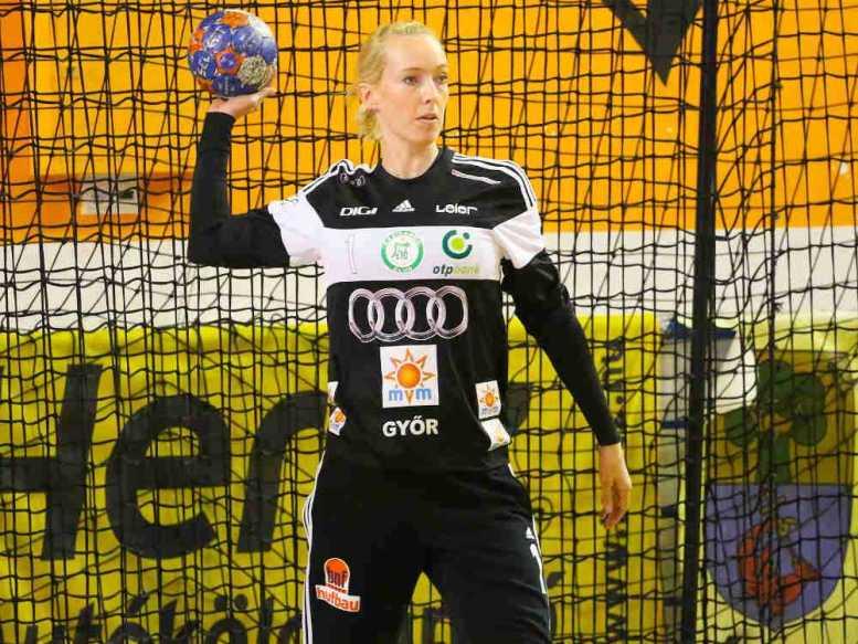 Handball: Katrine Lunde mit Comeback - Győri Audi ETO KC bezwingt ERD - Foto: Anikó Kovács und Tamás Csonka (Győri Audi ETO KC)
