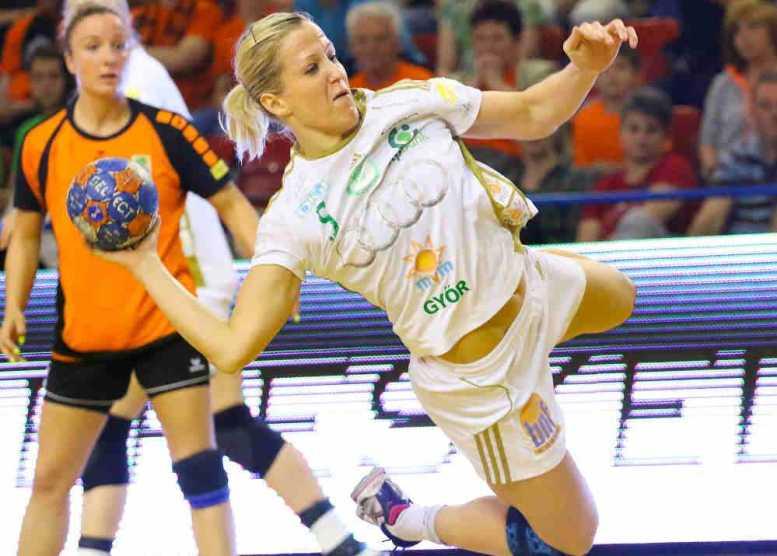 EHF Champions League All-Star-Team 2014/2015: Heidi Löke - Foto: Anikó Kovács und Tamás Csonka (Győri Audi ETO KC)
