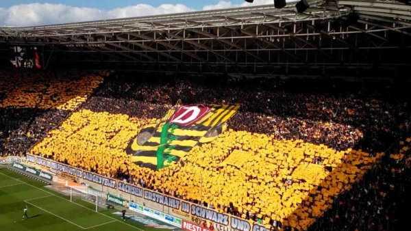 Dynamo Dresden Fanblock - Foto: SPORT4Final