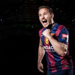 Handball Champions League EHF Final4: Barcelona und Veszprem im Finale - Victor Tomas (FC Barcelona) - Foto: EHF Media