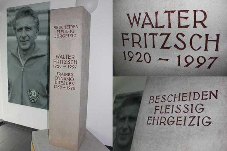 Dynamo Dresden: Werte von Walter Fritzsch bewahren - Foto: Dynamo Dresden