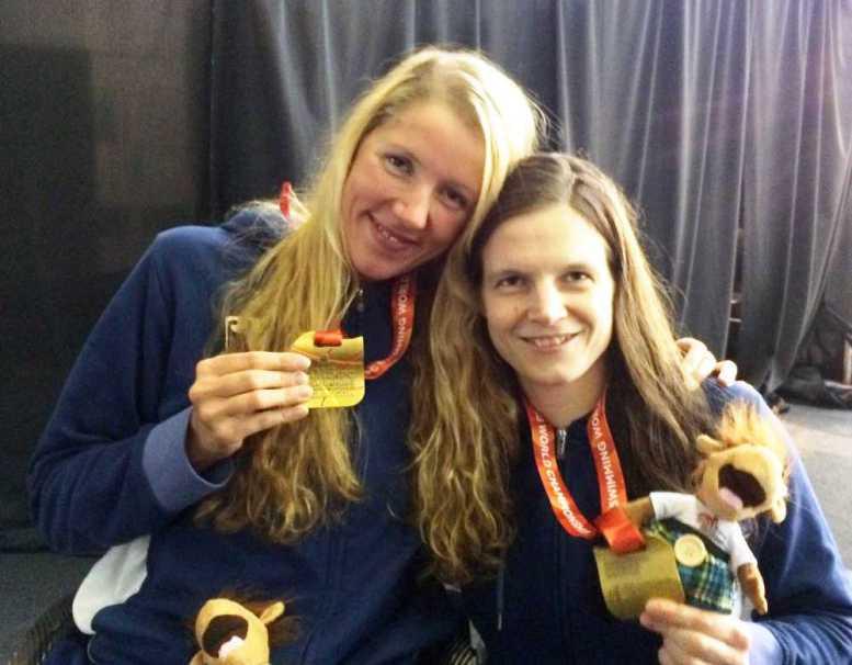 IPC Schwimm-WM 2015: Gold für Verena Schott und Daniela Schulte - Foto: Bernhard von Welck