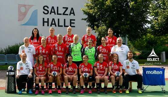 Handball Champions League: Team Thüringer HC 2015/2016 - Foto: Thüringer HC