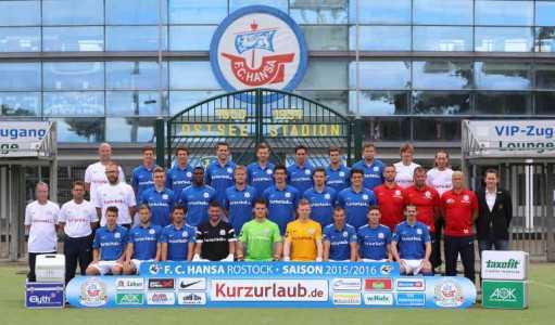 Foto: Mannschaftsbild FC Hansa Rostock