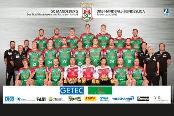 SC Magdeburg - Saison 2015/2016 - Foto: DKB-Handball-Bundesliga