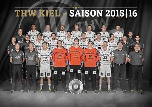 THW Kiel - Foto: DKB Handball Bundesliga