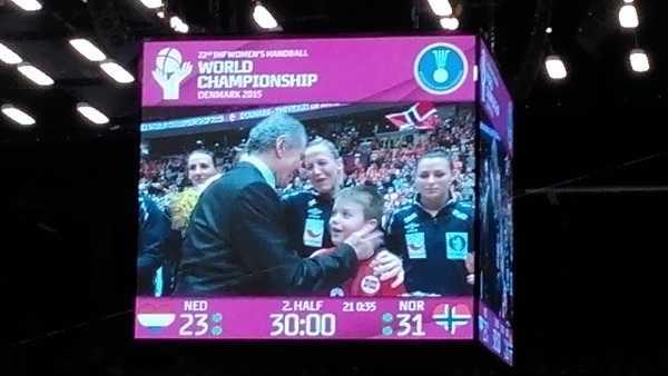 """Handball WM 2015 Dänemark: Heidi Löke """"Es war fantastisch"""" - Foto: SPORT4Final"""