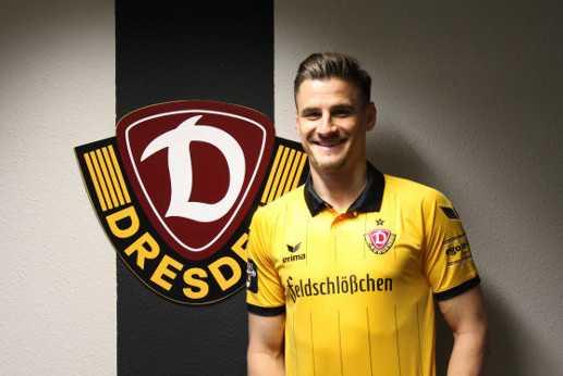 "Stefan Kutschke - Fußball Bundesliga kompakt: Dynamo Dresden demontierte Erzgebirge Aue. Stefan Kutschke ""Man of the Match"" - Foto: Dynamo Dresden"