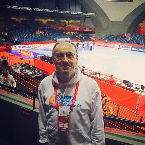 Handball EM 2016 Polen: SPORT4Final-Redakteur Frank Zepp berichtete live aus der Jahrhunderhalle von Wroclaw