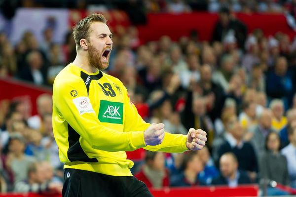 """Handball EM 2016: Andreas Wolff in der Handball-Bundesliga """"Torhüter der Saison""""- Foto: ZPRP / EHF"""