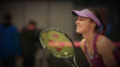 "Martina Hingis - Foto: CNN International ""Open Court"""