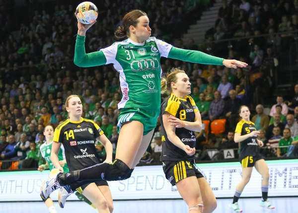 Handball Champions League: Györi Audi ETO KC chancenlos beim FC Midtjylland 118